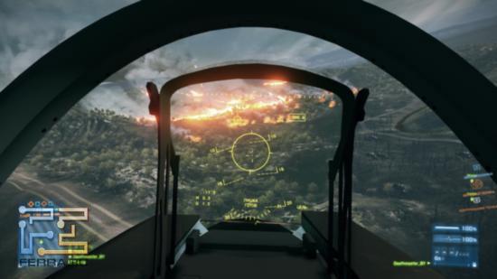 Одна из самых эффектных карт в Battlefield 3 -
