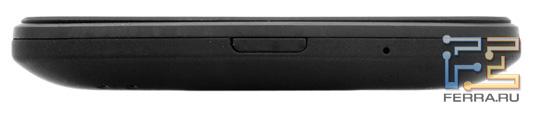 Нижний торец корпуса HTC Titan