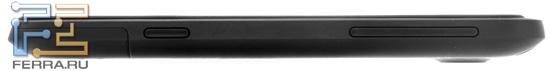 Правая боковая грань корпуса HTC Titan