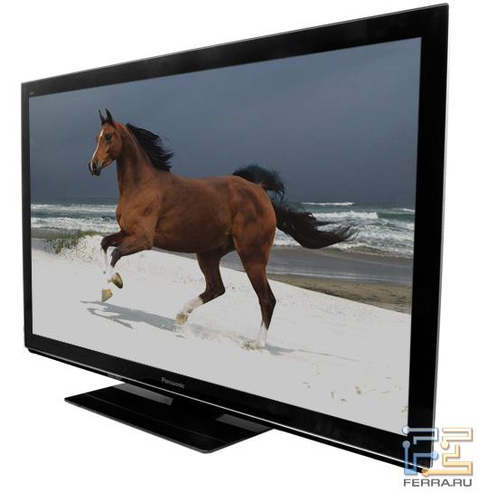 Телевизор Panasonic VIERA TX-PR50VT30, вид в три четверти