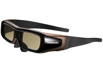 3D-очки Panasonic, идущие в комплекте с телевизором