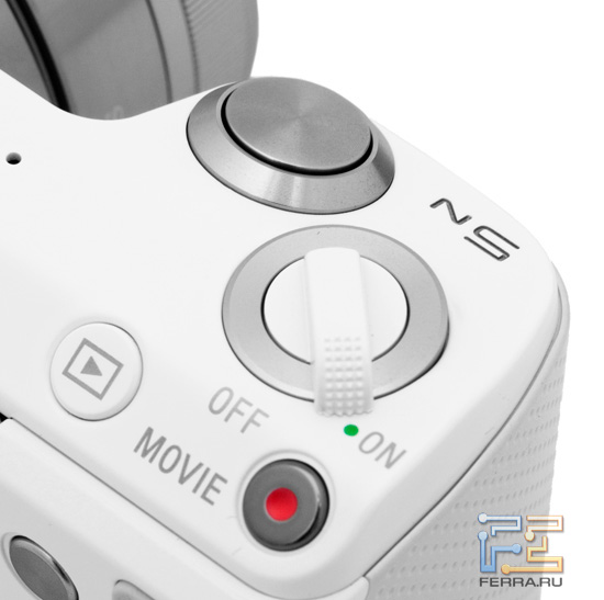 ������ ������, ������� ��������� � ������ ����������� �� ������� ������� ������� Sony NEX-5N