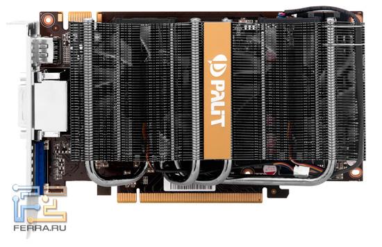 Внешний вид видеокарты Palit GTX 560 Ti Twin Light Turbo 1024
