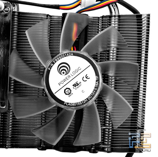 Вентилятор системы охлаждения Palit GTX 560 Ti Twin Light Turbo 1024