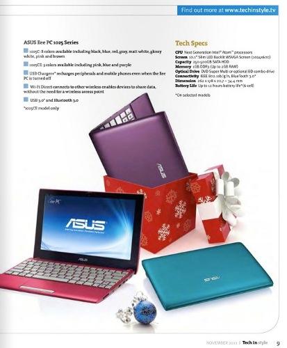 ASUS Eee PC 1025C � 1025CE