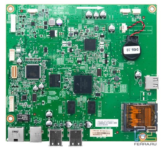 Материнская плата Acer DX241H крупным планом