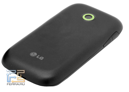 Смартфон LG Optimus Link, вид сзади