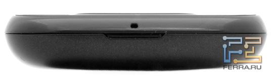 Нижняя грань LG Optimus Link