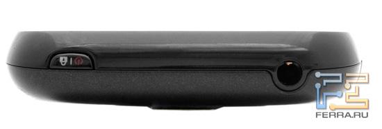 Верхняя грань LG Optimus Link