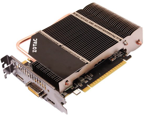 ZOTAC GeForce GTS 450 ZONE Edition