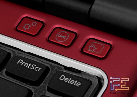 Дополнительные кнопки Dell Inspiron N411Z