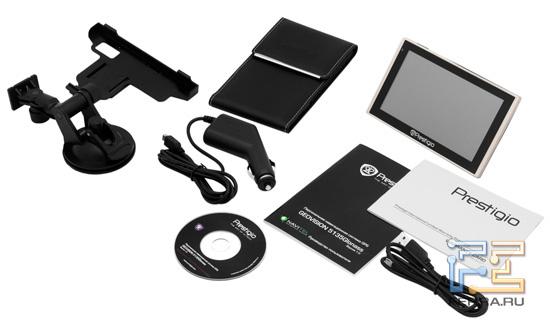 Комплект поставки Prestigio GeoVision 5135Glonass