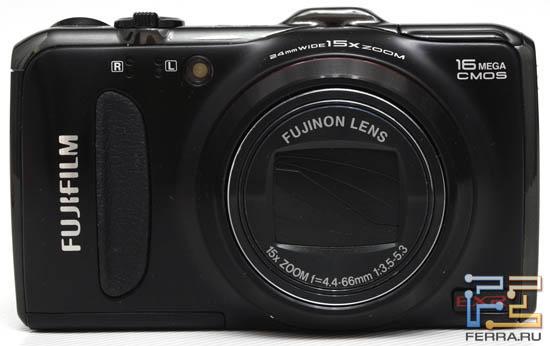 Fujifilm FinePix F550EXR, вид спереди
