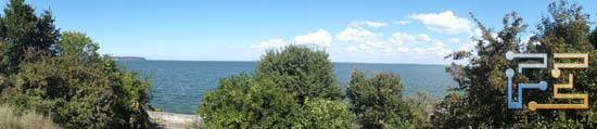 Круговая панорама, пейзажная ориентация. ЭФР=24 мм, f/8.0, 1/400 c, ISO 200