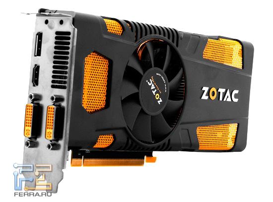 ���������� ZOTAC GTX 560 Ti 448 Cores