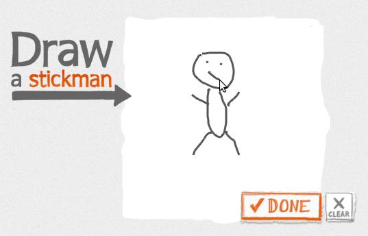Рисуем героя мультфильма на сайте Draw a Stickman
