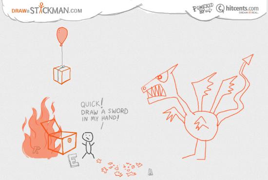 Крутые разборки на сайте Draw a Stickman