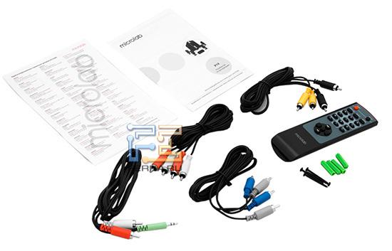 Комплект поставки Microlab X14