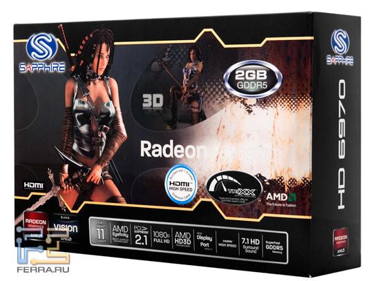 �������� ���������� Sapphire Radeon HD 6970