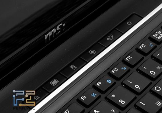 Дополнительные кнопки MSI GE620DX