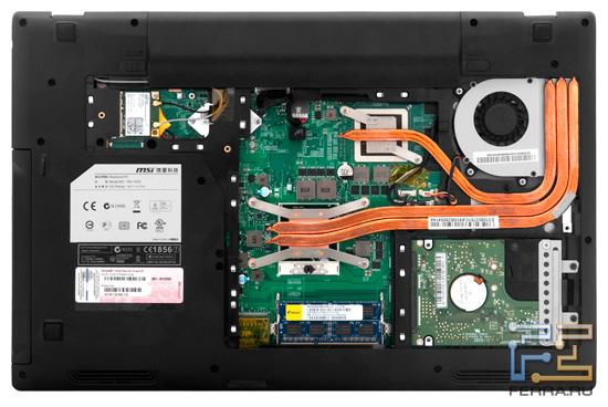 Возможности обновления MSI GE620DX