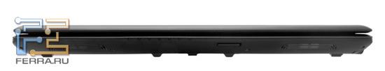 Передний торец MSI GE620DX: карт-ридер