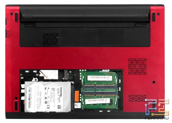 Возможности обновления Dell Vostro V131