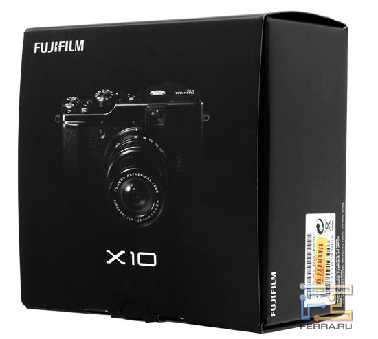 ������� � ������� Fujifilm FinePix X10