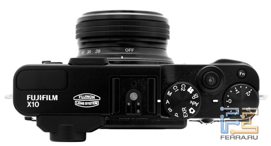 ������� ������� ������� Fujifilm FinePix X10