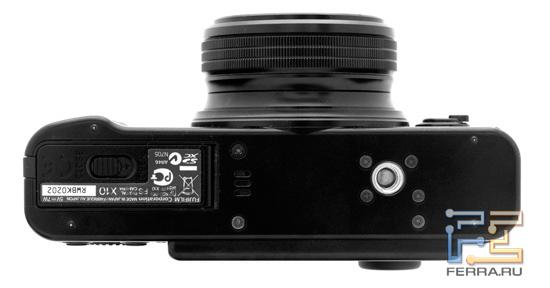 Fujifilm FinePix X10, ��� �����