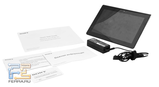 �������� �������� Sony Tablet S