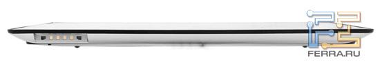 Нижний торец корпуса Sony Tablet S