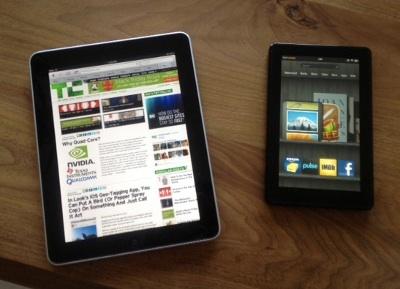iPad � Kindle Fire