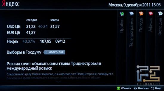 Приложение от Яндекса