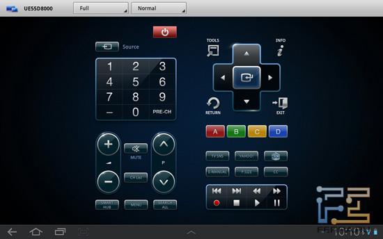 Нормальный режим работы Smart Remote