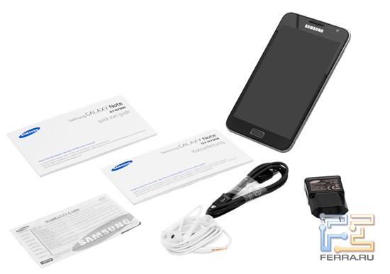 Комплект поставки Samsung Galaxy Note