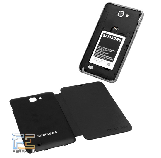 Samsung Galaxy Note и Flip Cover