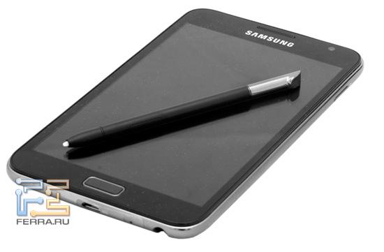 Samsung Galaxy Note со стилусом