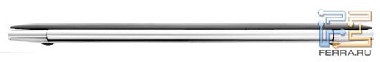 ASUS Zenbook UX21E, вид сзади