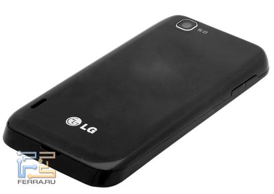 Задняя панель LG Optimus Sol