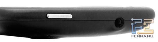 Верхний торец корпуса HTC Sensation XE