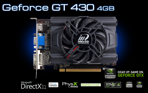 Inno3D GeForce GT430 4GB
