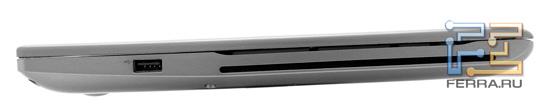 ������ ����� Samsung 700Z5A: USB � ���������� ������