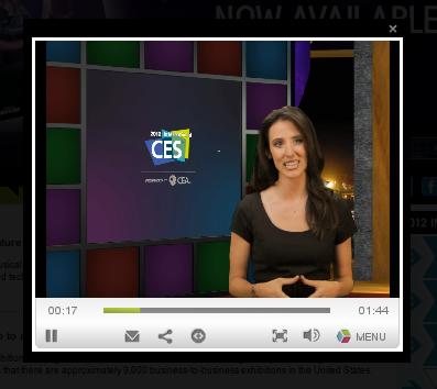 CESTV на сайте CES 2012