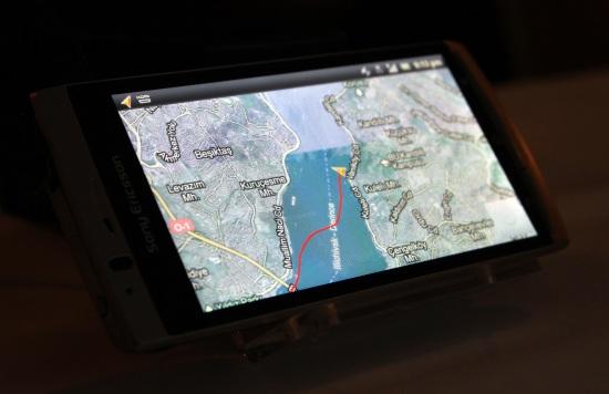 Sony Ericsson Xperia Arc с приёмником ГЛОНАСС