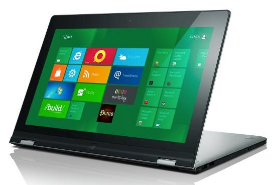 Разложенный Lenovo IdeaPad Yoga