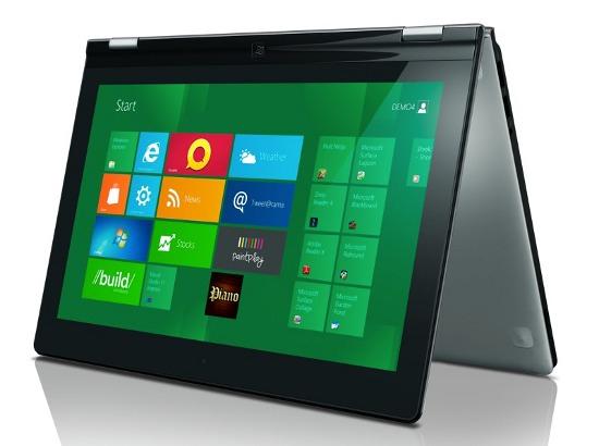 Lenovo IdeaPad Yoga в режиме планшета