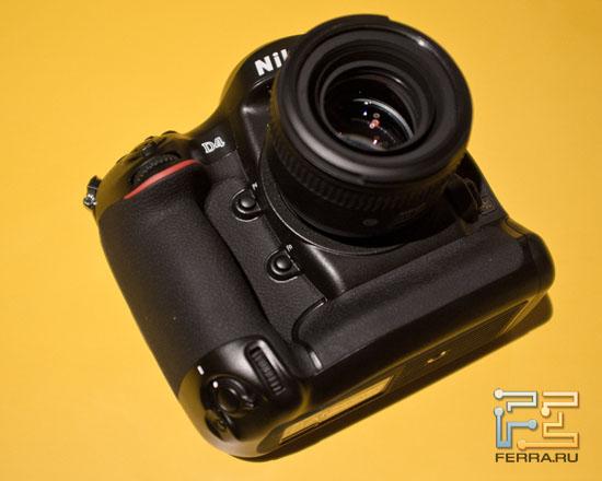 ����� ���������� Nikon D4 � �������� CES 2012