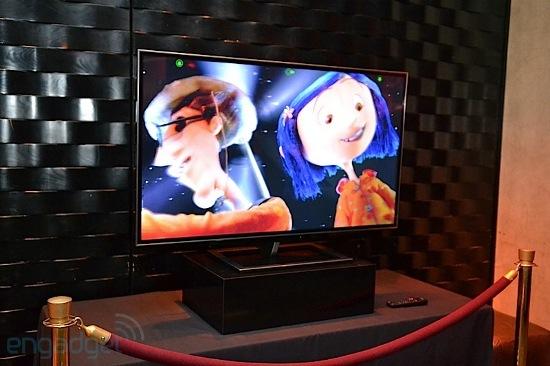 55-inch 4K Toshiba 3DTV