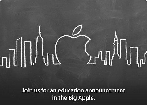 Apple приглашение
